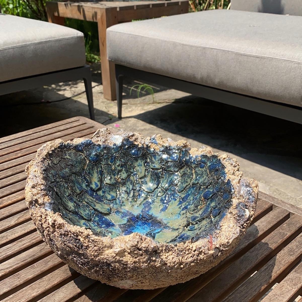 ceramic ornamental bowl on table