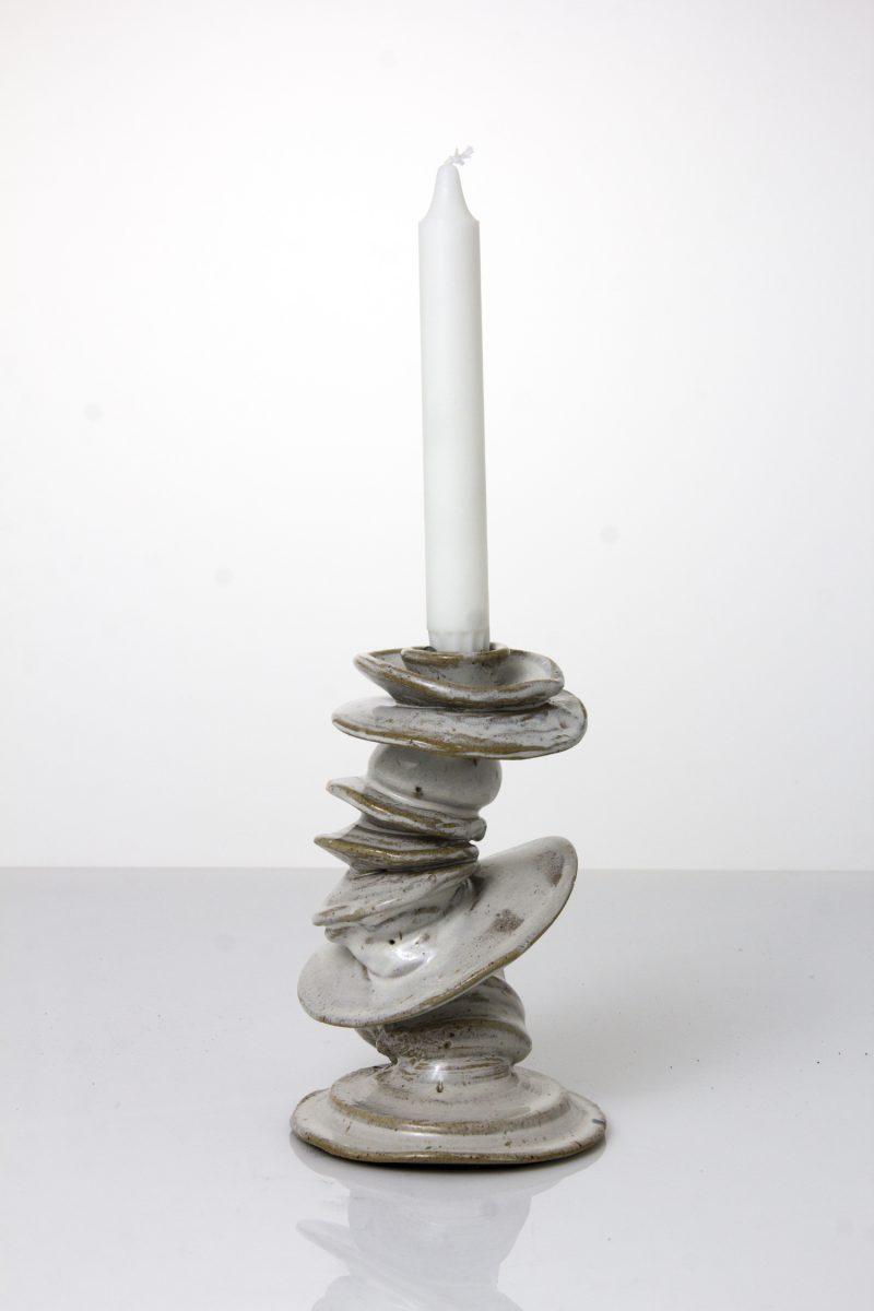funky ceramic candleholder