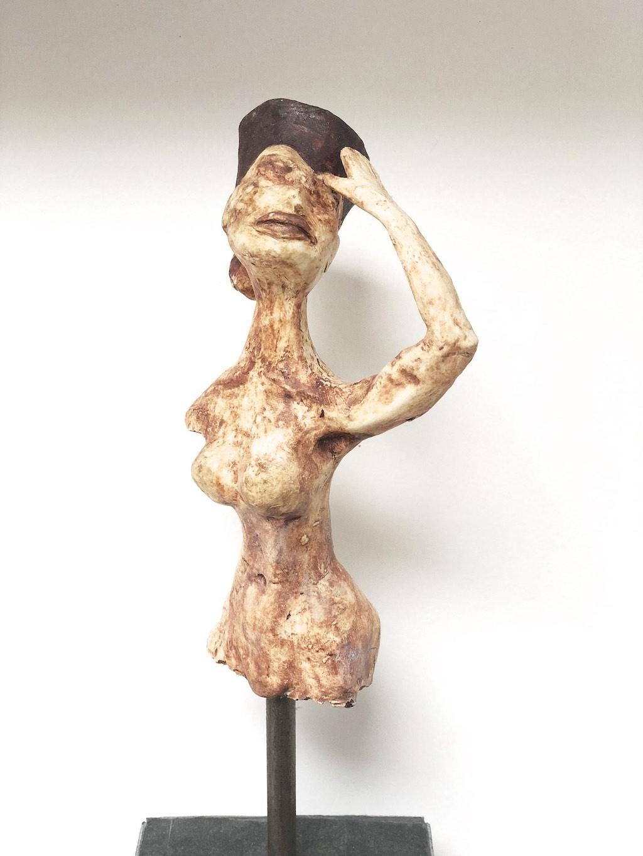 sculpture of woman's torso