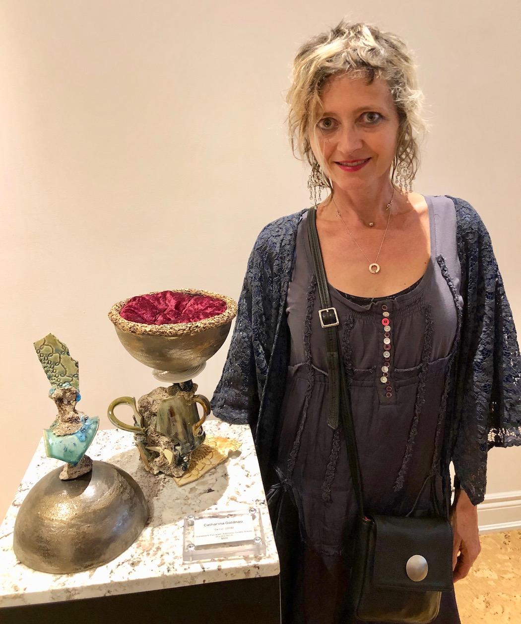 award winning sculpture and artist